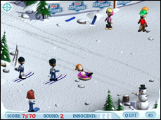 Ski Slope Showdown