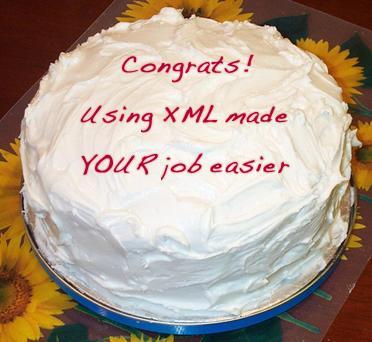 XML cake