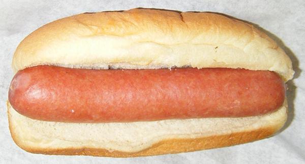 Plain Hot Dog Weiner