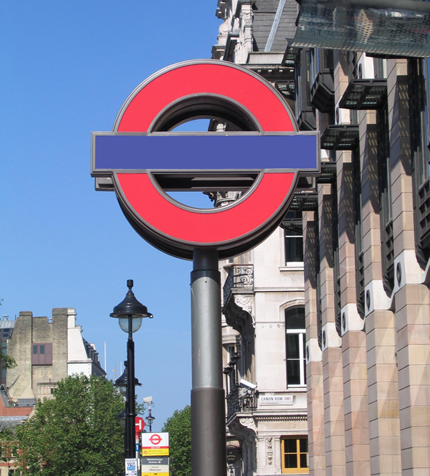 London Underground Sign Generator