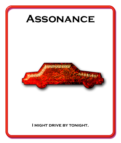 The Discerning Lyricist: Assonance, or Definitely Not A Rhyme
